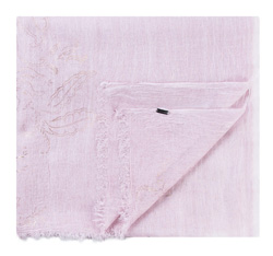 Шарф женский, светло-розовый, 84-7D-X03-P, Фотография 1