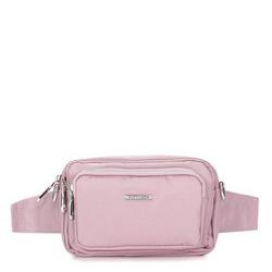Женская нейлоновая сумка, светло-розовый, 92-4Y-109-P, Фотография 1