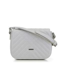 Женская сумка через плечо, светло-серый, 91-4Y-608-8, Фотография 1