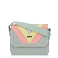 Női táska hosszú övvel, színes, 92-4Y-222-ZX, Fénykép 1