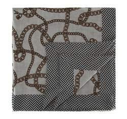 Női sál, szürke fekete, AP-7-082-18, Fénykép 1