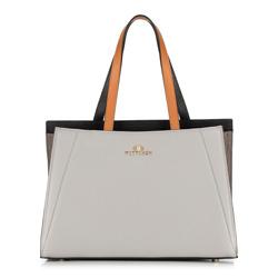 Női táska, szürke fekete, 89-4E-506-8, Fénykép 1