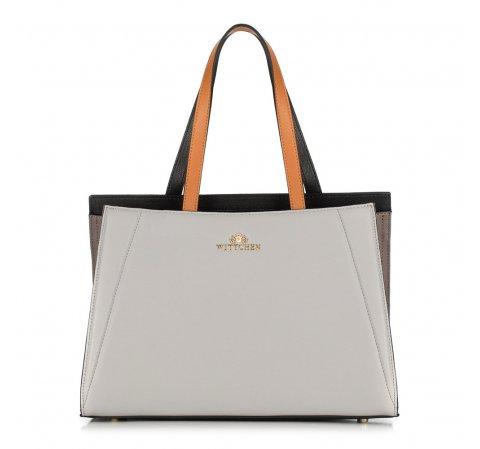 Női táska, szürke fekete, 89-4E-506-5, Fénykép 1