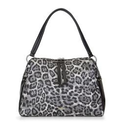 Női táska, szürke fekete, 89-4Y-358-8, Fénykép 1