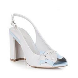 Női cipő, szürke-kék, 88-D-554-8-42, Fénykép 1