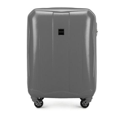 Kis bőrönd, szürke, 56-3A-261-60, Fénykép 1