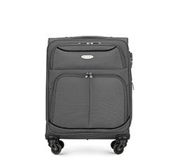Kis bőrönd, szürke, 56-3S-520-11, Fénykép 1