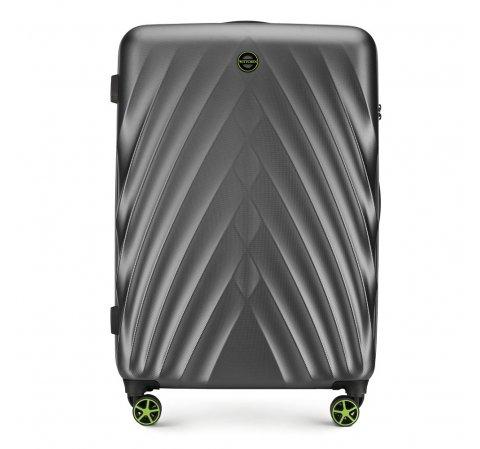 Nagy bőrönd, szürke, 56-3P-803-10, Fénykép 1