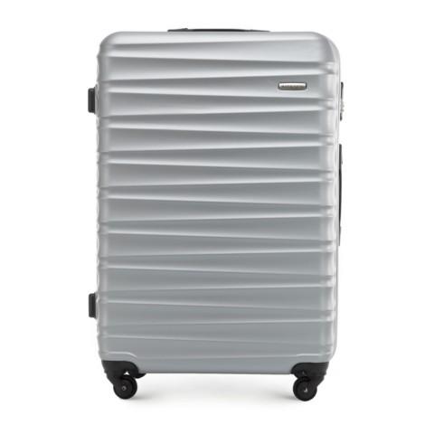 Nagy bőrönd, szürke, 56-3A-313-31, Fénykép 1