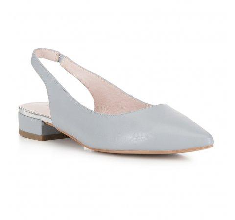 Női cipő, szürke, 88-D-963-8-37, Fénykép 1