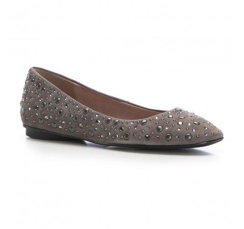Női cipő, szürke, 86-D-656-8-35, Fénykép 1
