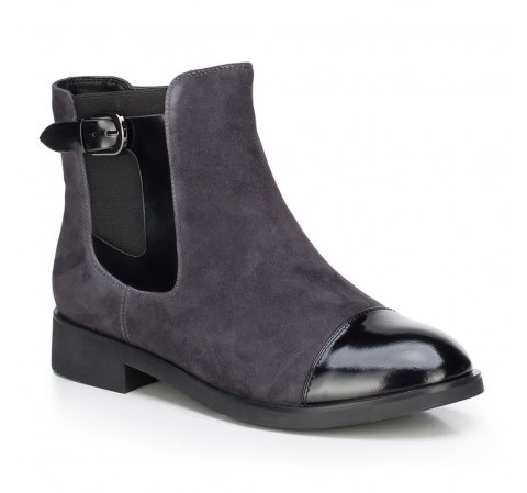 Női cipő, szürke, 87-D-956-7-35, Fénykép 1
