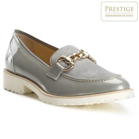 Női cipő, szürke, 82-D-104-0-37, Fénykép 1
