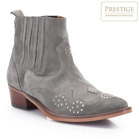Női cipő, szürke, 86-D-051-8-37, Fénykép 1
