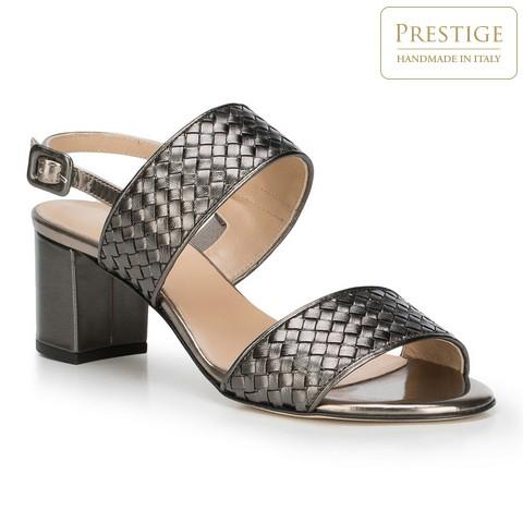 Női cipő, szürke, 88-D-106-8-36, Fénykép 1