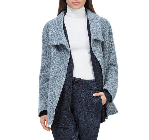 Női kabát, szürke, 84-9W-104-9-S, Fénykép 1