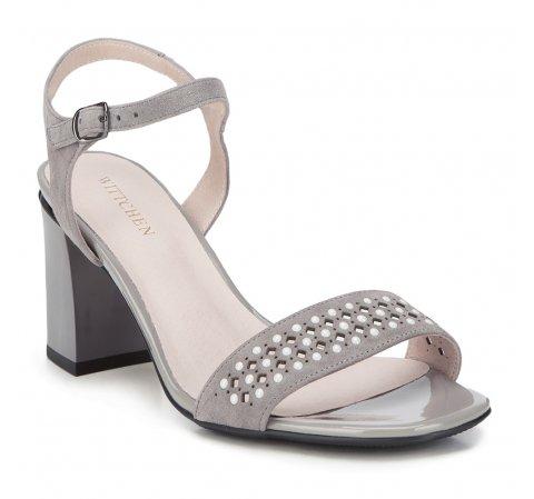 Női cipő, szürke, 88-D-968-8-36, Fénykép 1