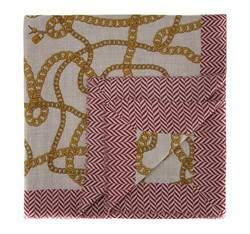 Női sál, szürke piros, AP-7-082-16, Fénykép 1