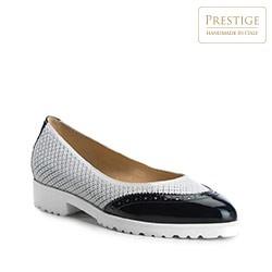 Női cipő, szürke-sötétkék, 84-D-114-S-37, Fénykép 1