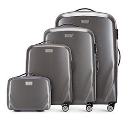 Bőröndszettek, szürke, 56-3P-57K-70, Fénykép 1