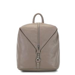 Рюкзак женский, темно-бежевый, 91-4E-303-9, Фотография 1