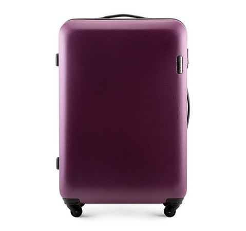 Чемодан на колёсиках 28' Wittchen, темно-фиолетовый, 56-3-613-44, Фотография 1