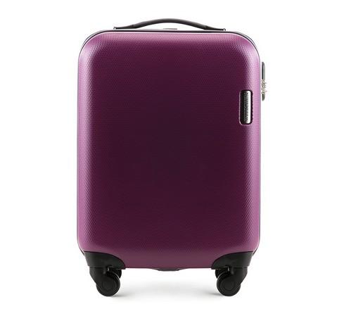 Чемодан ручная кладь, фиолетовый, 56-3-610-90, Фотография 1