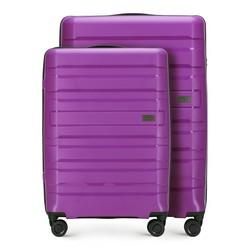 Комплект (Большой + средний чемодан), фиолетовый, 56-3T-752_3-24, Фотография 1