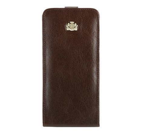 Кожаный чехол для iPhone 6 Plus, темно-коричневый, 10-2-502-1, Фотография 1