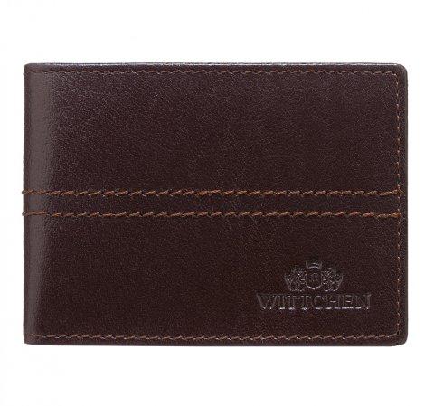 Чехол для кредитной карты, темно-коричневый, 14-2-118-L1, Фотография 1