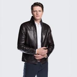 Куртка мужская, темно-коричневый, 88-09-250-4-S, Фотография 1