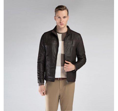 Куртка мужская, темно-коричневый, 90-09-250-4-XL, Фотография 1