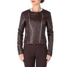 Куртка женская, темно-коричневый, 81-09-904-4-2X, Фотография 1
