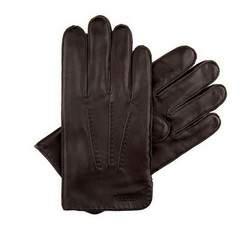 Перчатки мужские, темно-коричневый, 39-6-343-D-L, Фотография 1