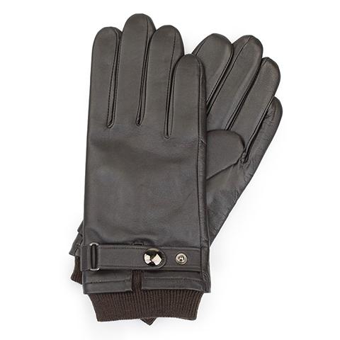 Перчатки мужские, темно-коричневый, 39-6-704-1-L, Фотография 1