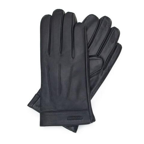 Перчатки мужские, темно-коричневый, 44-6-717-BB-S, Фотография 1