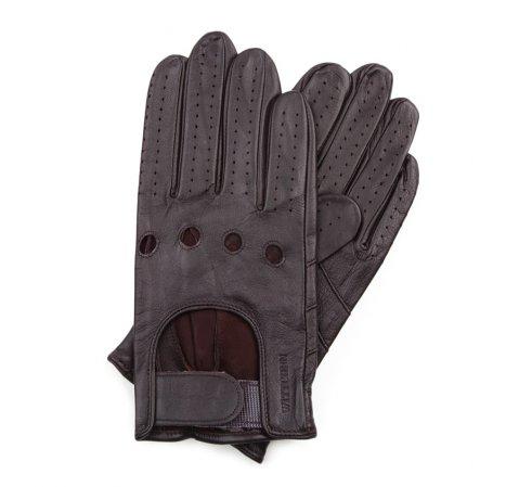 Перчатки мужские, темно-коричневый, 46-6L-381-GC-L, Фотография 1