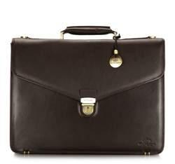 Портфель, темно-коричневый, 02-3-143-4, Фотография 1