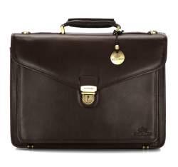 Портфель, темно-коричневый, 02-3-145-4, Фотография 1