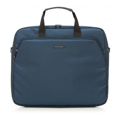 Большая нейлоновая сумка для ноутбука, темно-синий, 91-3P-605-7, Фотография 1