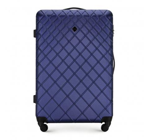 Большой чемодан, темно-синий, 56-3A-553-10, Фотография 1