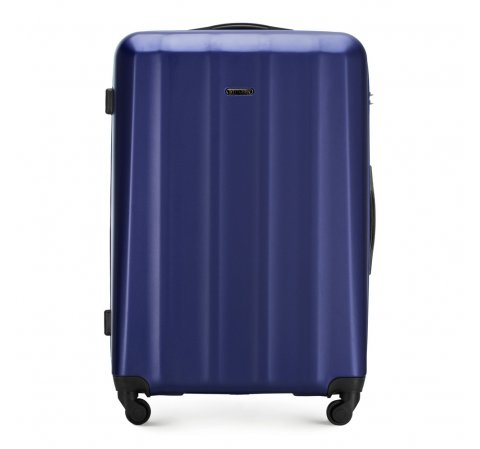 Большой чемодан, темно-синий, 56-3P-113-95, Фотография 1