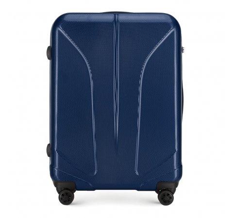 Большой чемодан, темно-синий, 56-3P-813-10, Фотография 1