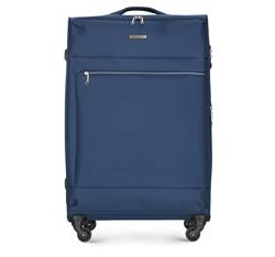 Большой чемодан, темно-синий, 56-3S-623-90, Фотография 1