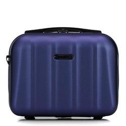 Дорожная косметичка из текстурного поликарбоната, темно-синий, 56-3P-114-90, Фотография 1
