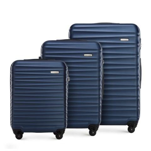 Комплект чемоданов, темно-синий, 56-3A-31S-34, Фотография 1