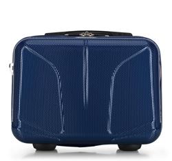 Дорожная косметичка из рифленого поликарбоната, темно-синий, 56-3P-814-90, Фотография 1