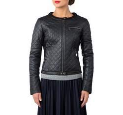 Куртка женская, темно-синий, 81-09-907-7-2X, Фотография 1