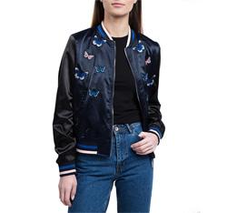 Куртка женская, темно-синий, 84-9N-113-7-XL, Фотография 1