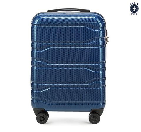 Маленький чемодан, темно-синий, 56-3P-981-30, Фотография 1